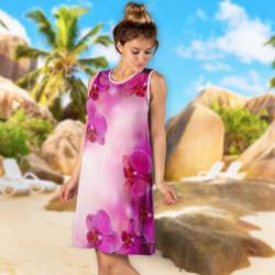 Лятна дамска рокля Лолита №8334