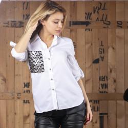 Елегантна дамска риза FLORA