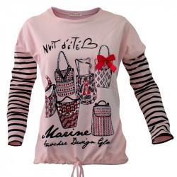 Розов блузон за тийнейджъри  MARINE