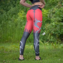 Дамски спортен клин с повдигащ и стягащ ефект ''Devils love''