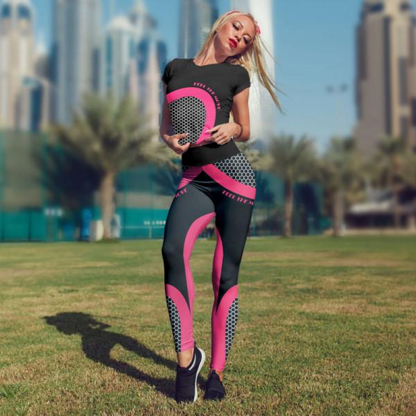 Дамски спортен комплект PINK