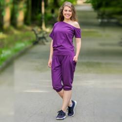 Спортен дамски комплект  Purple