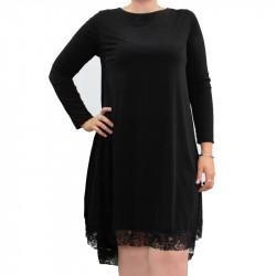 Дамска Макси рокля с дантела Нелина