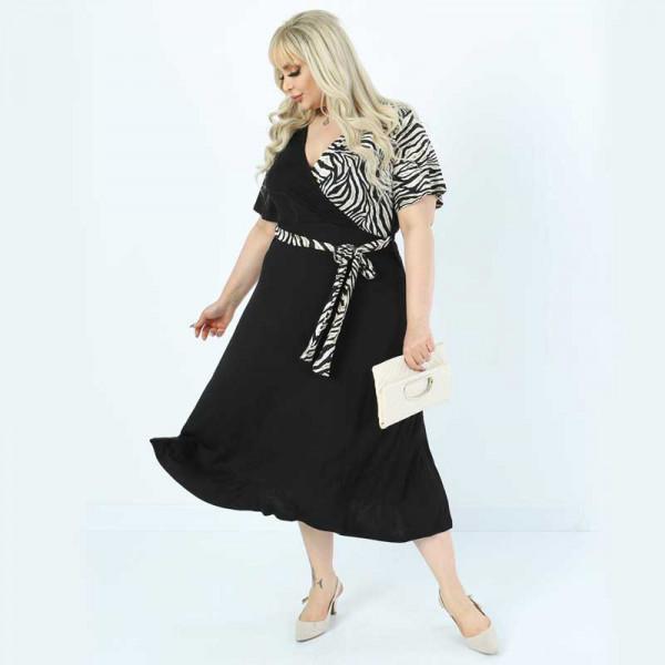 Уникална дамска рокля Прегърни ме