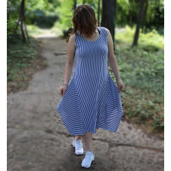 Дамска Maxi моряшка рокля