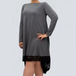 Дамска Макси рокля с дантела Марина