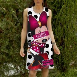 Лятна дамска рокля ''Minnie Mouse''