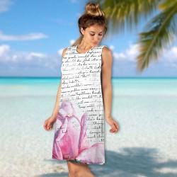 Лятна дамска рокля ''Любовно писмо''