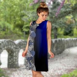 Дамска къса рокля 6902