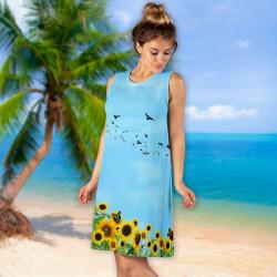 Дамска къса рокля 6929