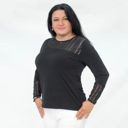 Спортна-елегантна макси дамска блуза