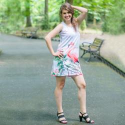 Дамска къса рокля Flamingo