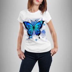 Дамска тениска с щампа ''Butterfly Tonny''