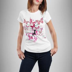 Дамска тениска с щампа ''Fay''
