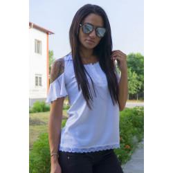 Дамска блуза с къс ръкав ''White''