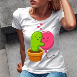Дамска тениска с щампа Funny 6494-7020