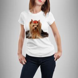 Дамска тениска с щампа ''Йорки''