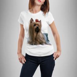 Дамска тениска с щампа ''Сладурско Йорки''