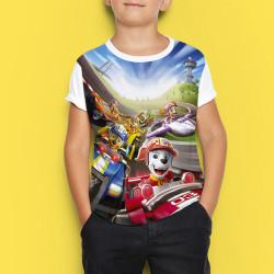 Детска тениска с принт Пес Патрул