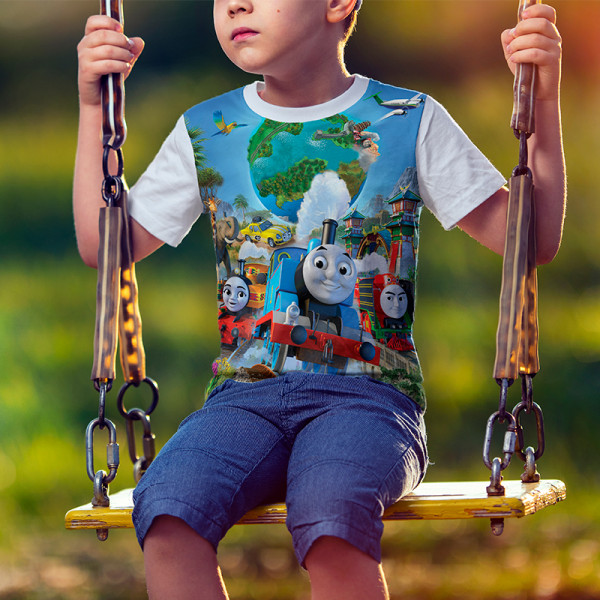 Детска тениска влакчето Томас