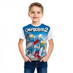 Тениска за момче Смърфовете 2
