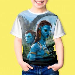 Детска тениска с принт Аватар 8359
