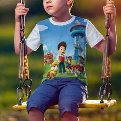 Детска тениска за момче ПЕС ПАТРУЛ