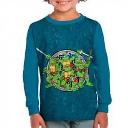 Детска блуза за момче Костинурките Нинджа