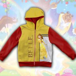 3D Детски суитшърт за момиче Belle