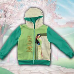 3D Детски суитшърт за момиче Mulan