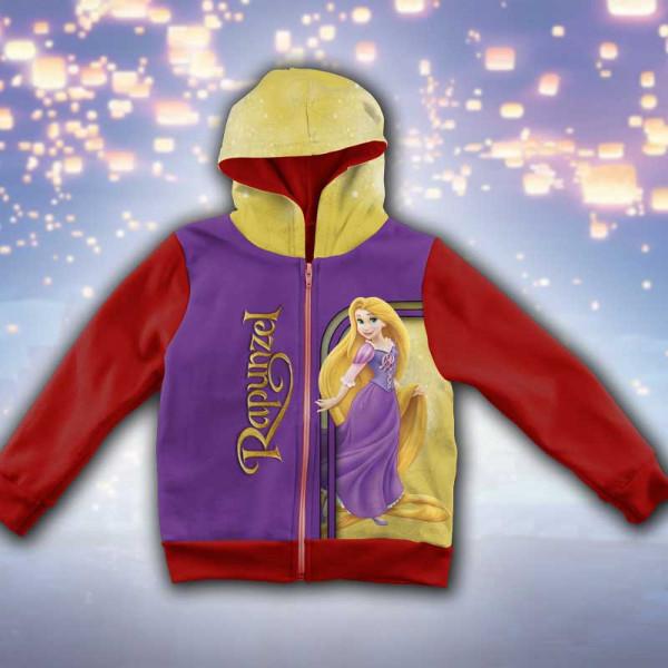 3D Детски суитшърт за момиче Rapunzel
