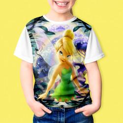 Тениска за момиче Тинкъл Бел