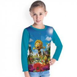Детска блуза за момиче ПЧЕЛИЧКАТА МАЯ # 7180