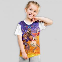 Детска тениска с принт COCO