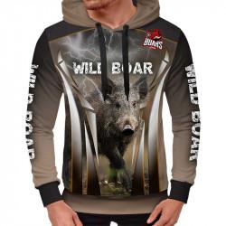 3D мъжки спортен суитшърт Wild boar # 7021