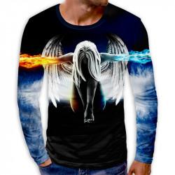 3D мъжка блуза принт ANGEL WINGS