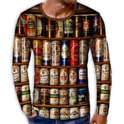 3D мъжка блуза принт Бирени кутии