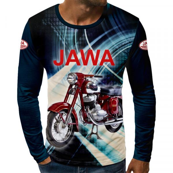 3D мъжка блуза принт JAVA