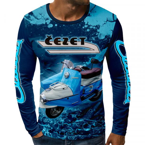 3D мъжка блуза принт CESET