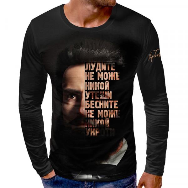 3D мъжка блуза БОТЕВ