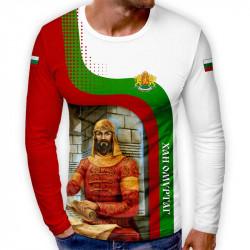 3D мъжка блуза патриотична Хан Омуртаг