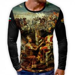 3D мъжка блуза патриотична Цар Иван Асен II