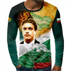 3D мъжка блуза Васил Левски