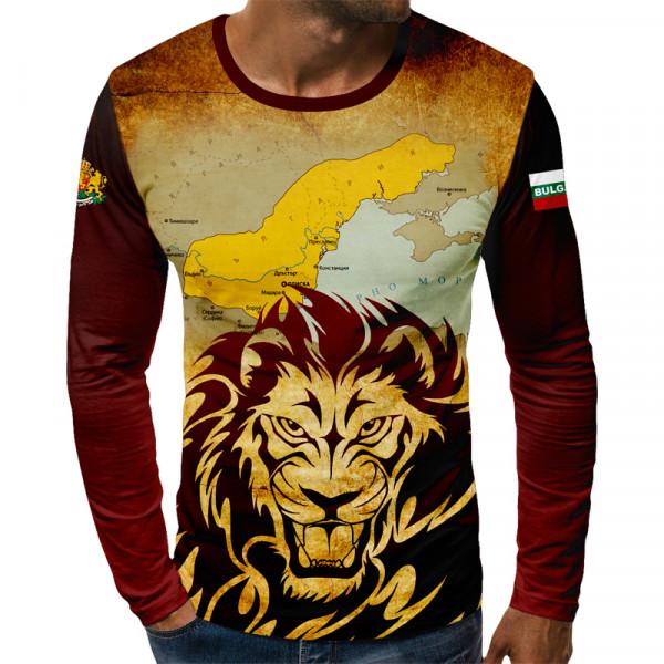 3D мъжка блуза патриотична