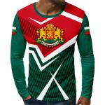 3D мъжка блуза BULGARIA