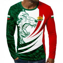 3D мъжка блуза принт BULGARIA