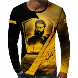 3D мъжка блуза принт Христо Ботев