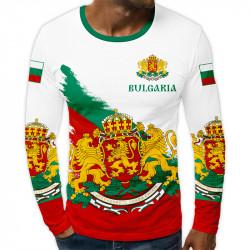 3D мъжка блуза Bulgarian Power