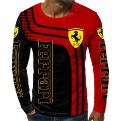 3D мъжка блуза FERRARI