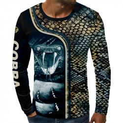 3D мъжка блуза COBRA